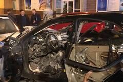 'Біженець з Чечні, патріот Грузії': всі подробиці підриву авто в центрі Києва, фото і відео з місця НС