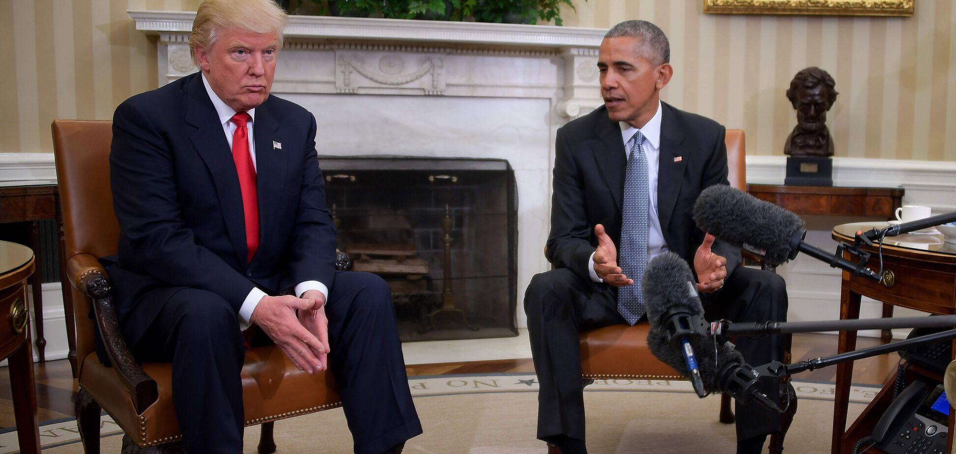 Дональд Трамп, Барак Обама