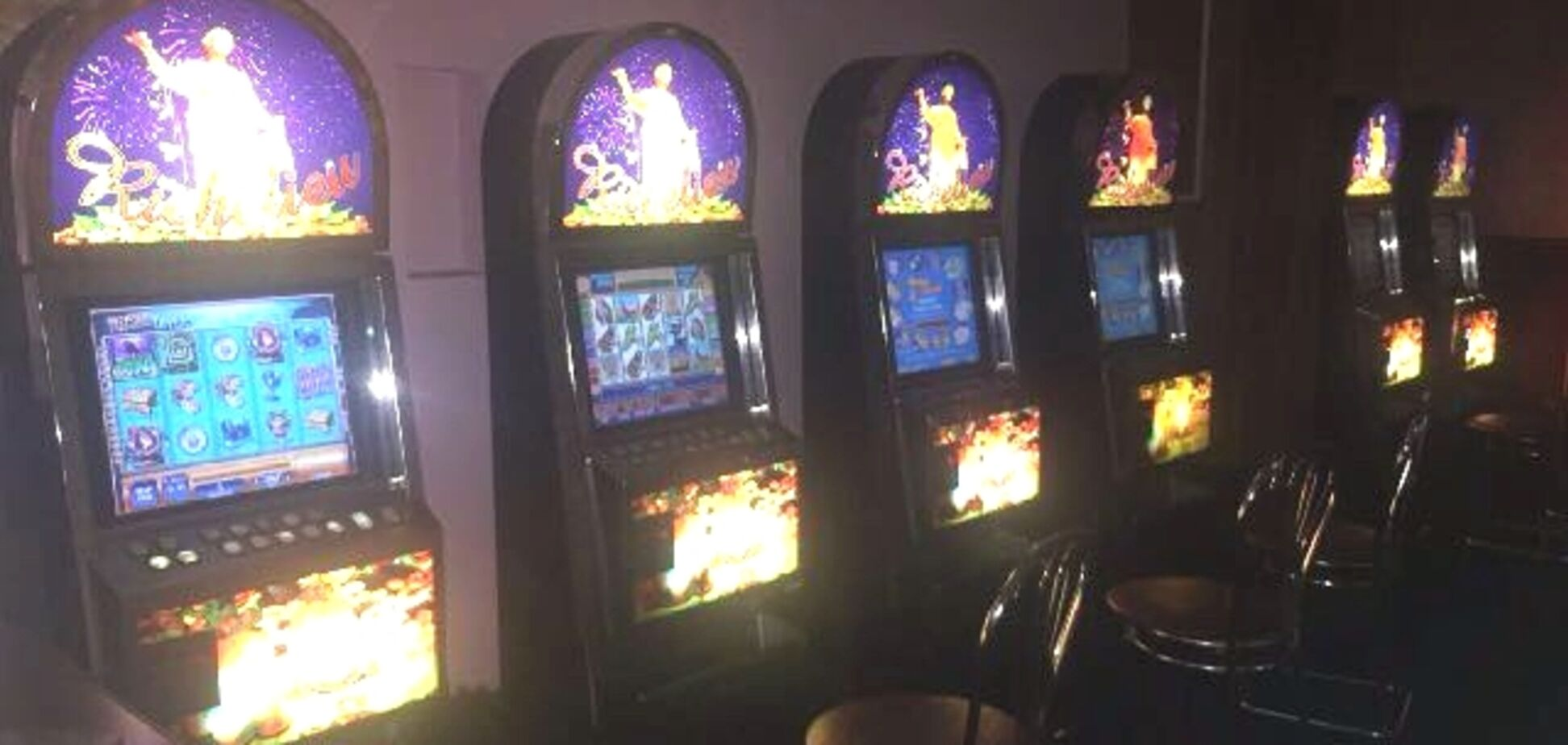 В центре Запорожья закрыли пять казино, которых 'не увидели' блюстители порядка