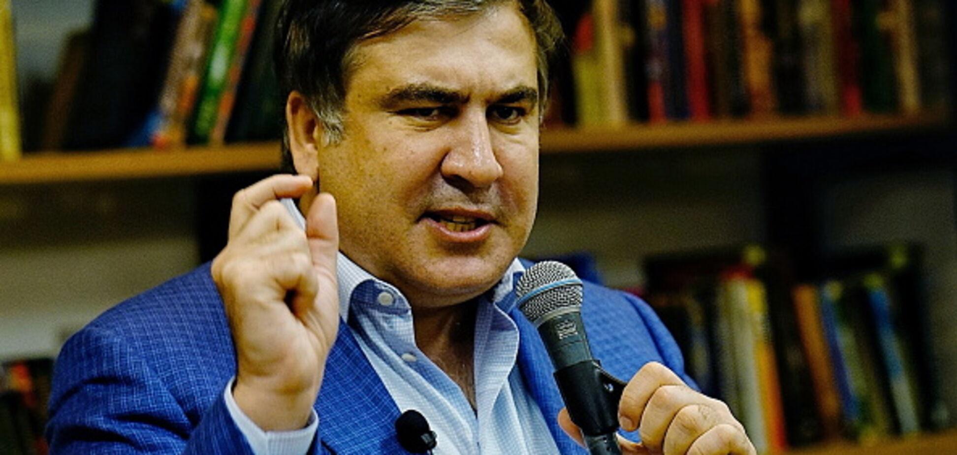 Мимика подвела: Саакашвили растерялся, отрицая встречу с Коломойским