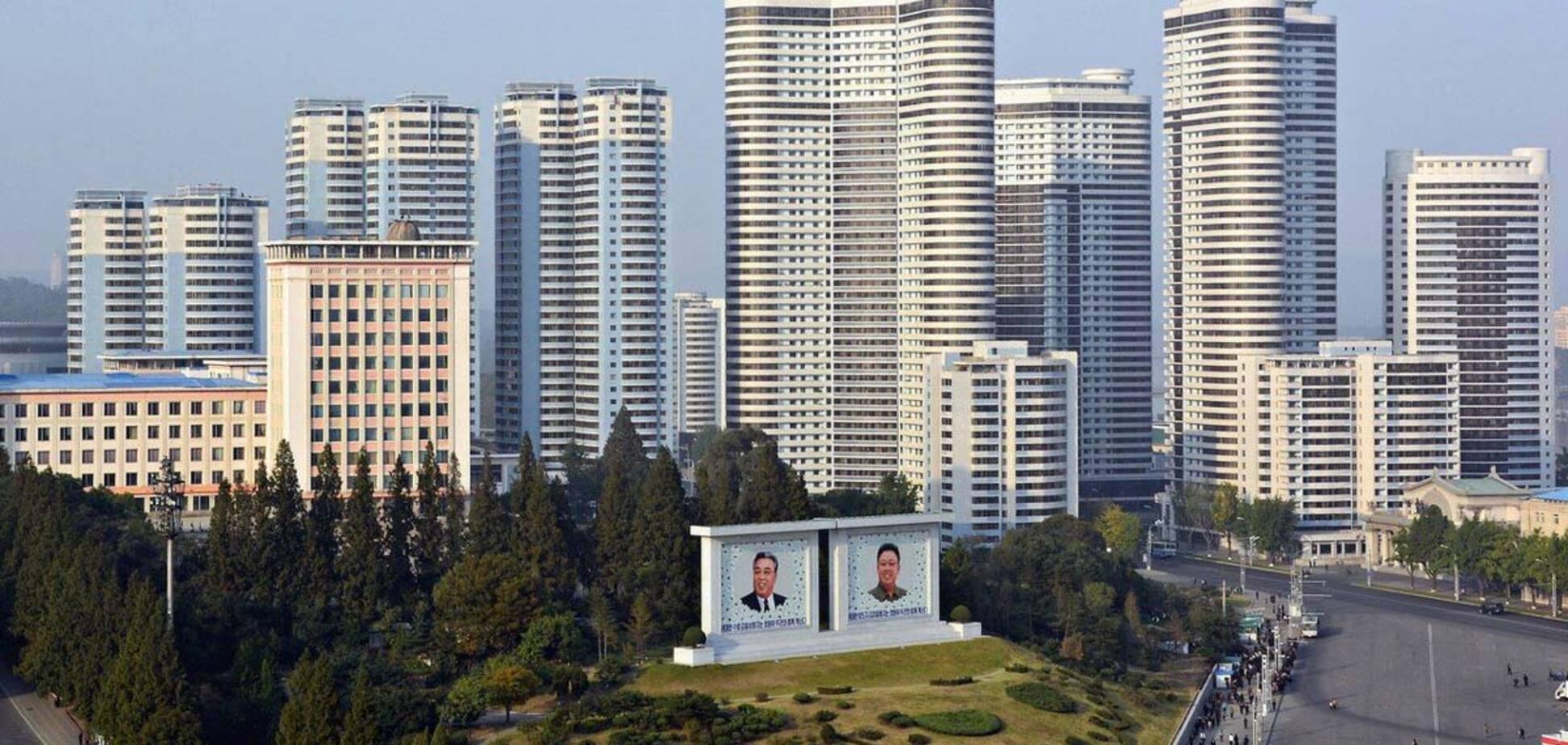'Секретную' столицу КНДР сняли с высоты птичьего полета: в сеть попало редкое видео