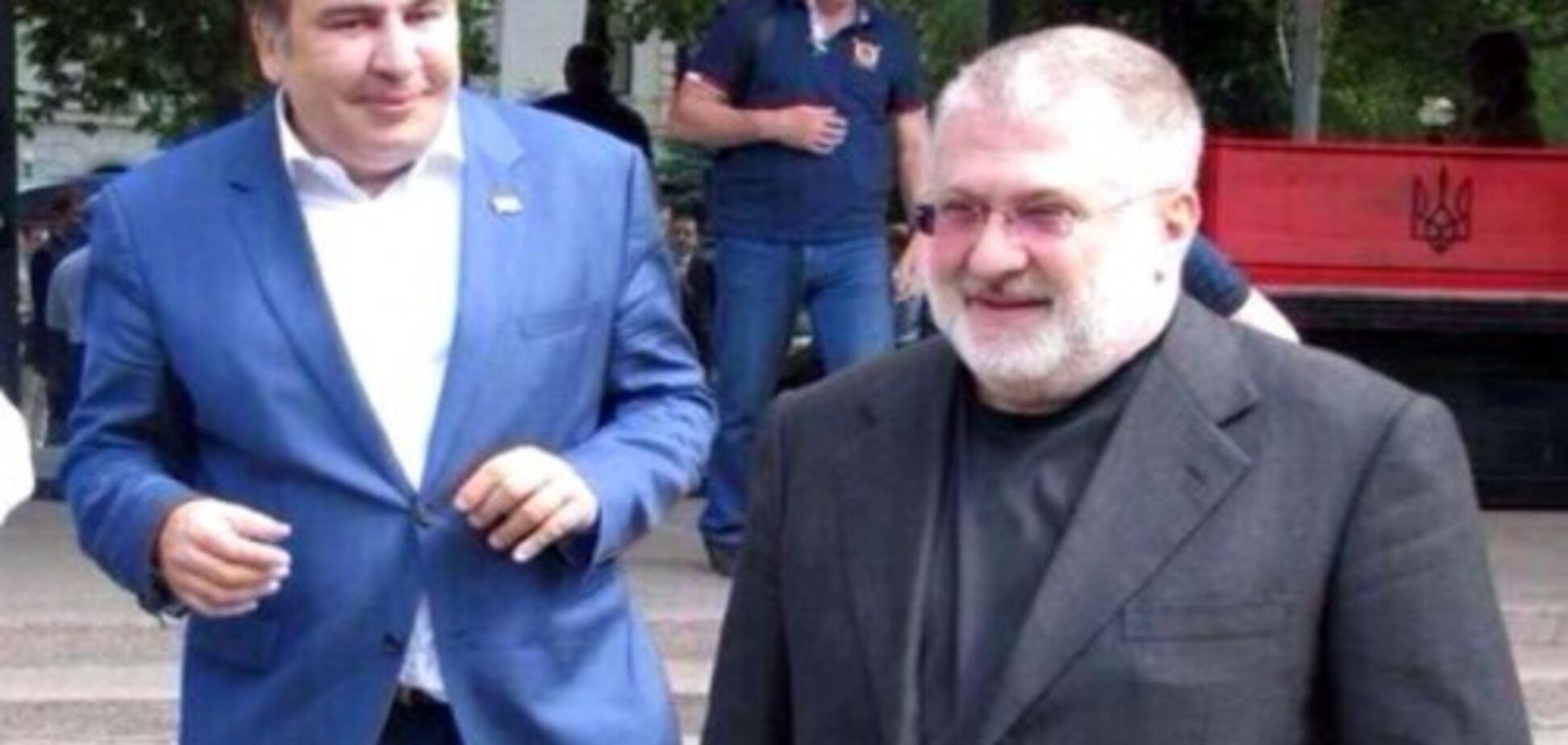 Зустріч Коломойського і Саакашвілі: у скандалі виявився замішаний відомий нардеп