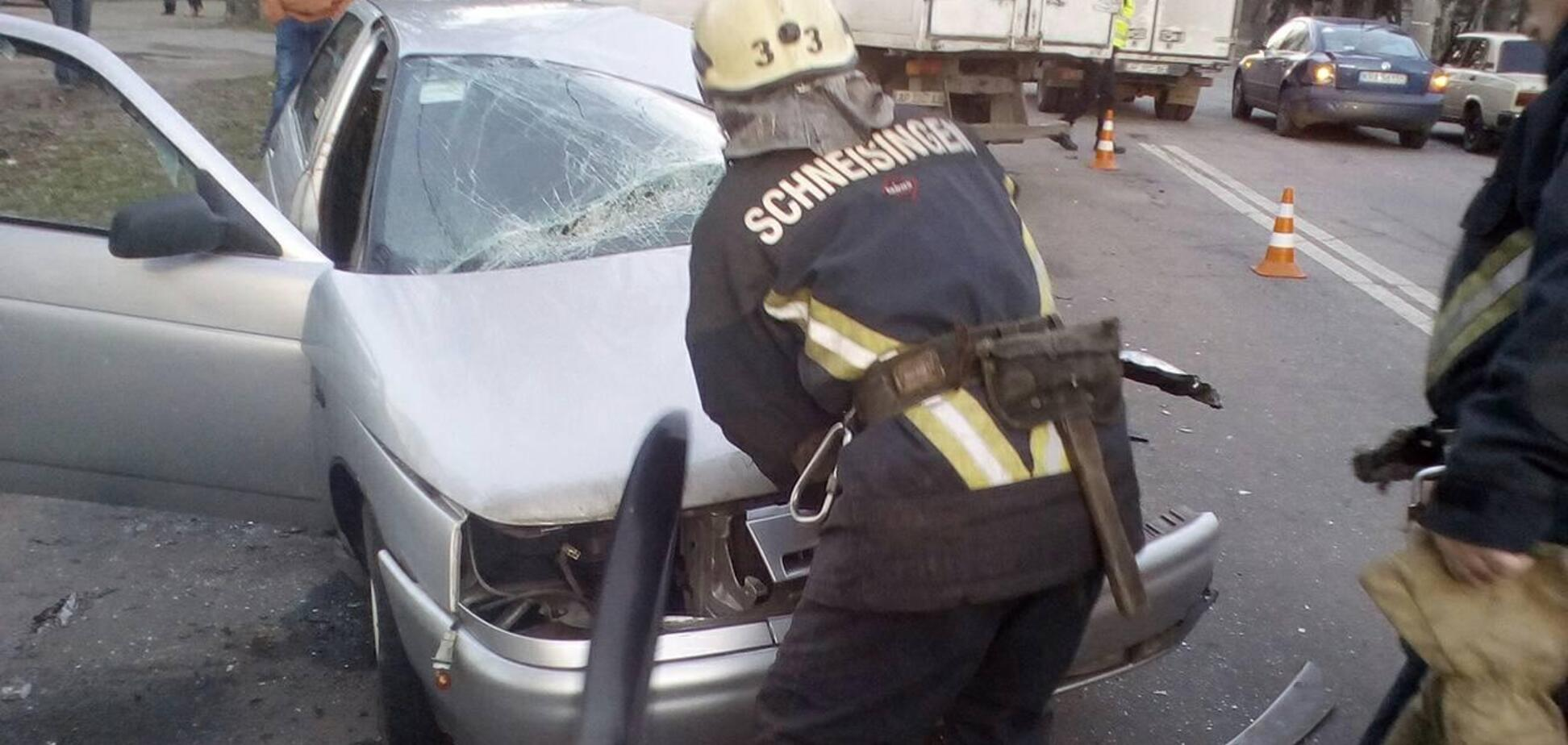 В Запорожской области спасены три человека