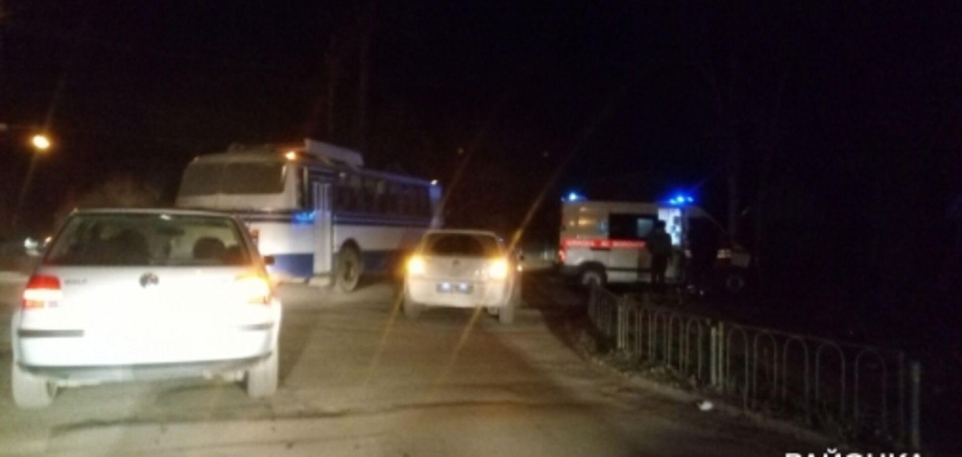 В Запорожской области в ДТП пострадали 2 человека