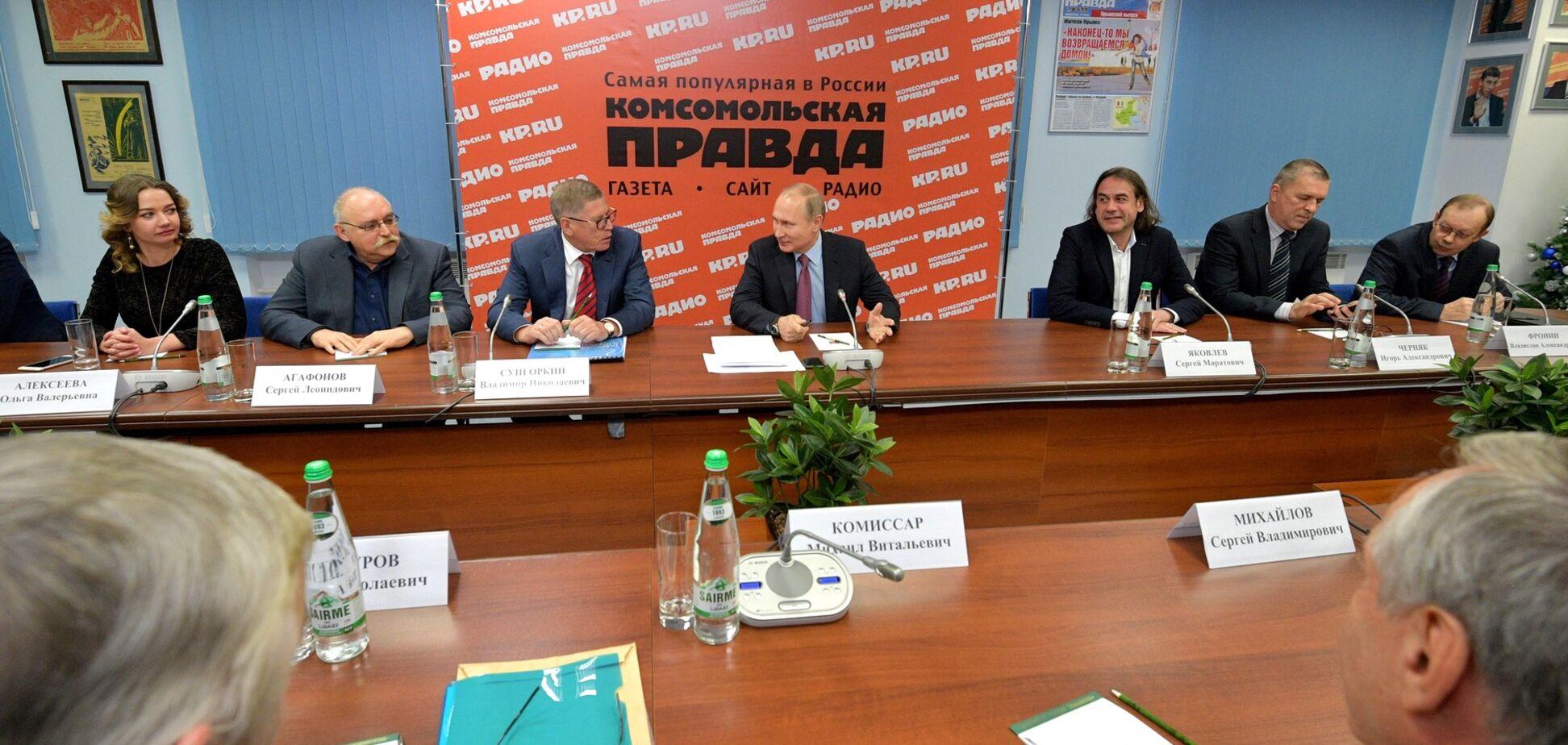 'Мир с Украиной и США': журналист объяснил предложение Путина Украине по Крыму