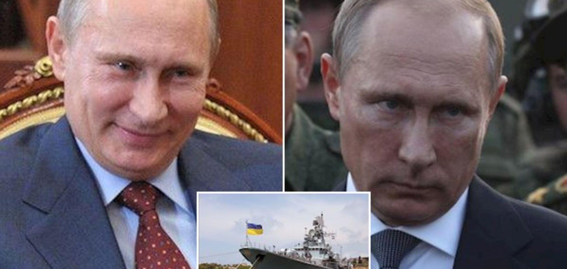 'Возврат' украинских кораблей: раскрыт хитрый план Путина по Крыму