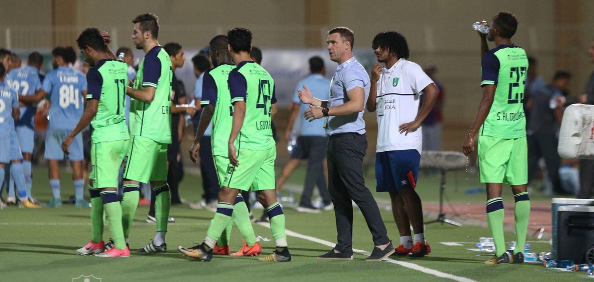 Ребров принизив суперника в історичному матчі в Саудівській Аравії