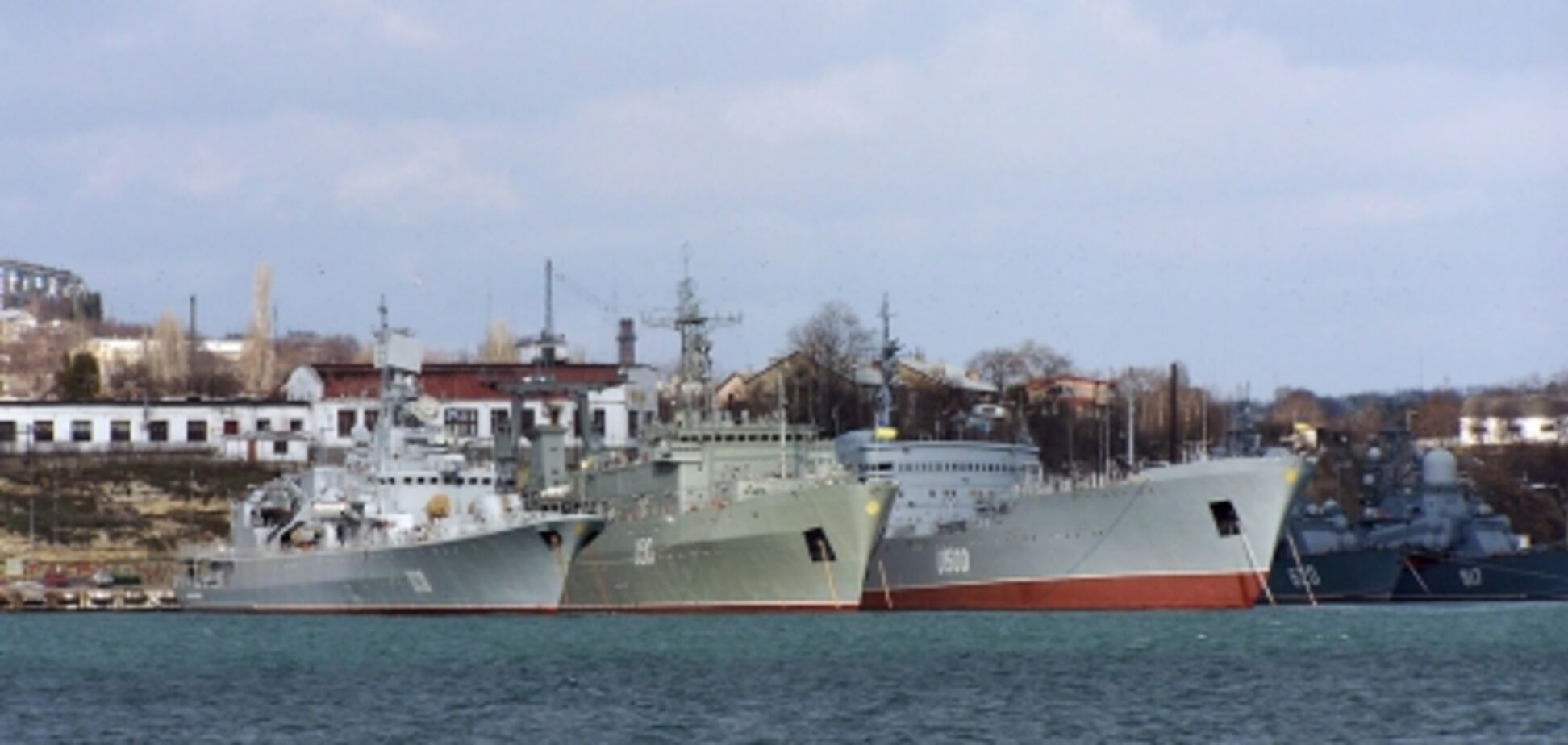 Корабли в Крыму