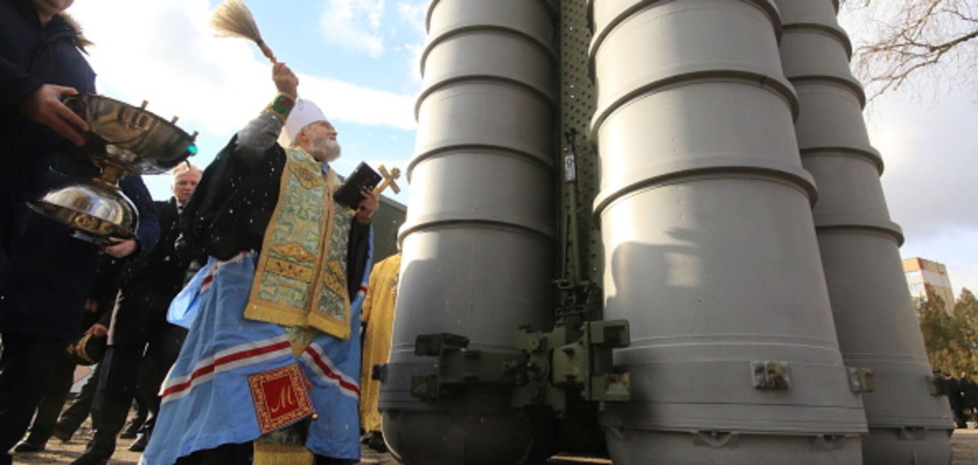 В Крыму развернули зенитные комплексы С-400: появилось видео