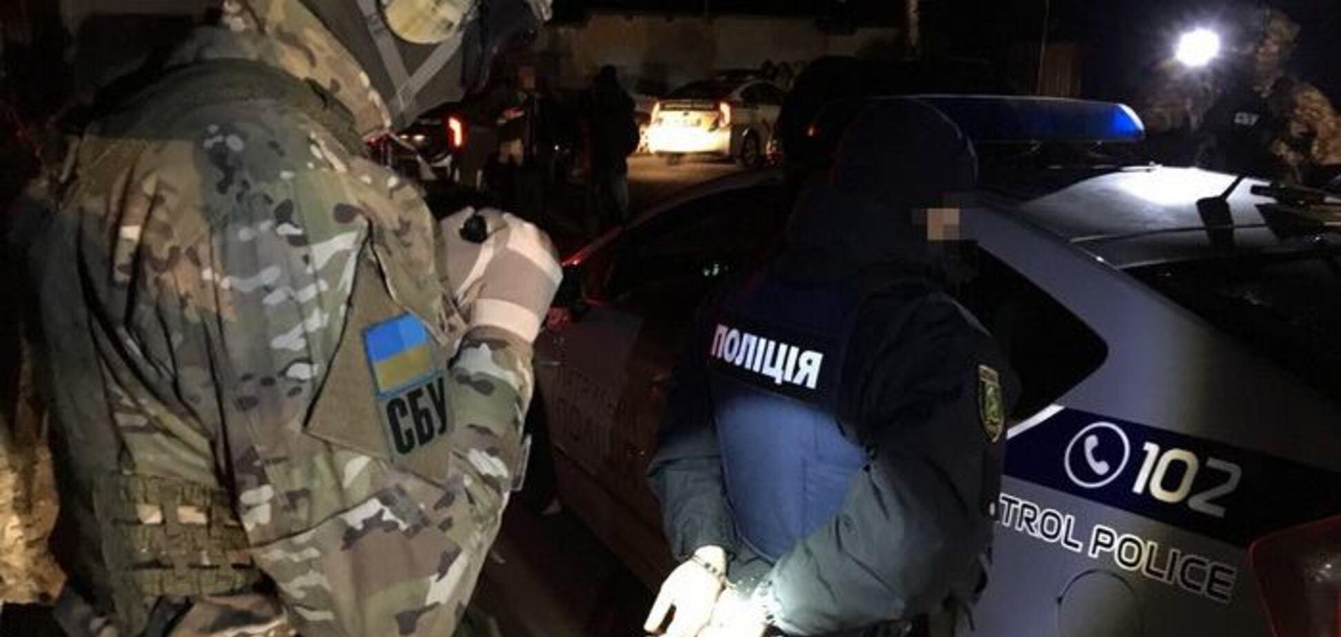 В Харькове СБУ обезвредила группу полицейских-взяточников: опубликованы фото и видео
