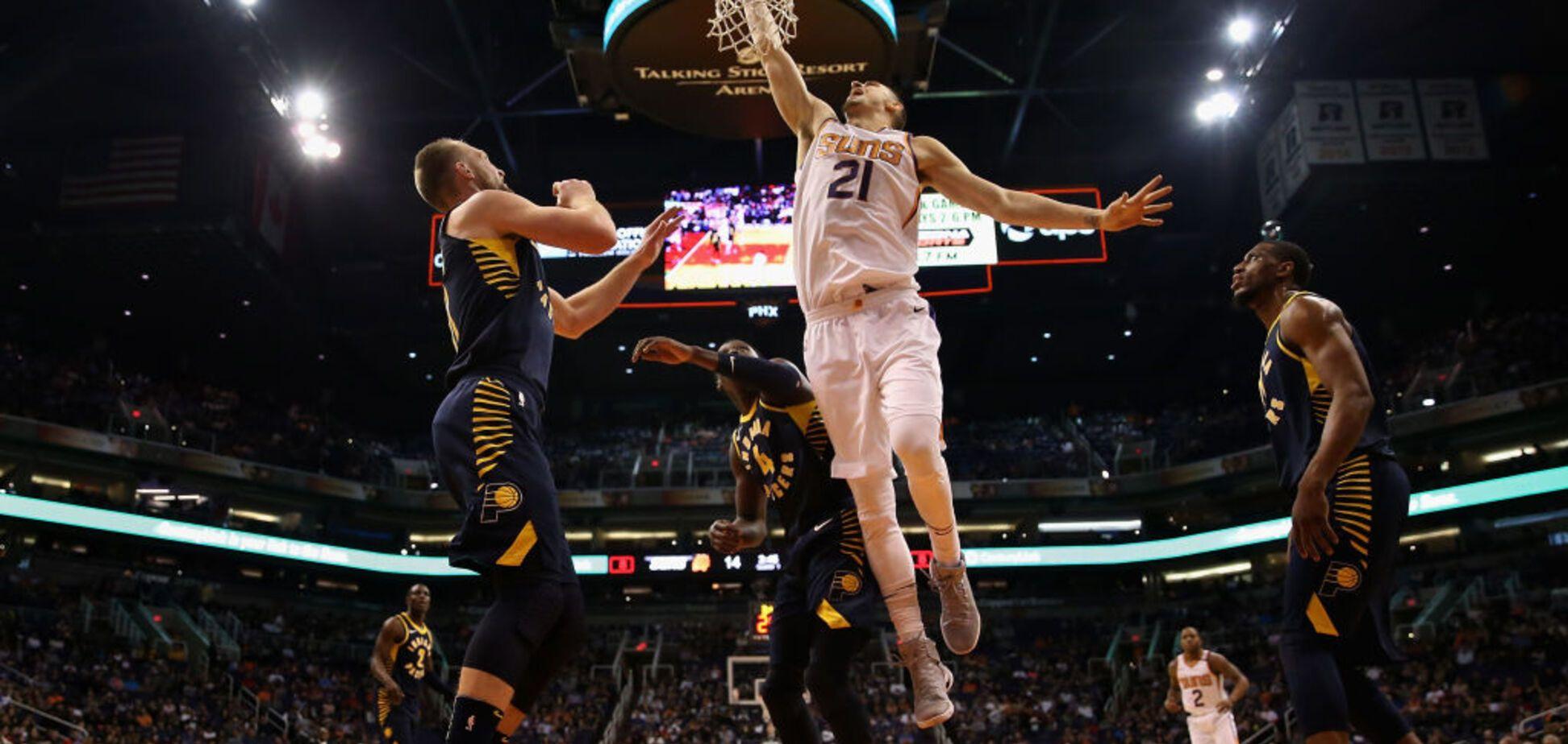 Единственный! Украинский баскетболист провел эффектный матч в НБА: опубликовано видео