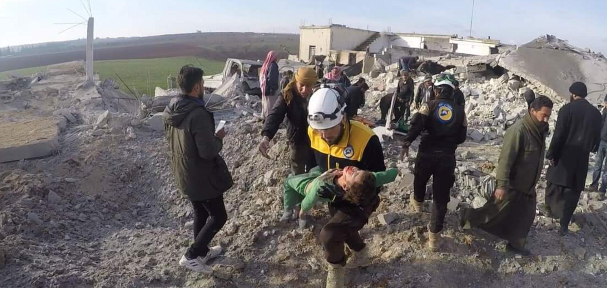 Літаки Росії завдали потужного удару по Сирії: з'явилося моторошне відео