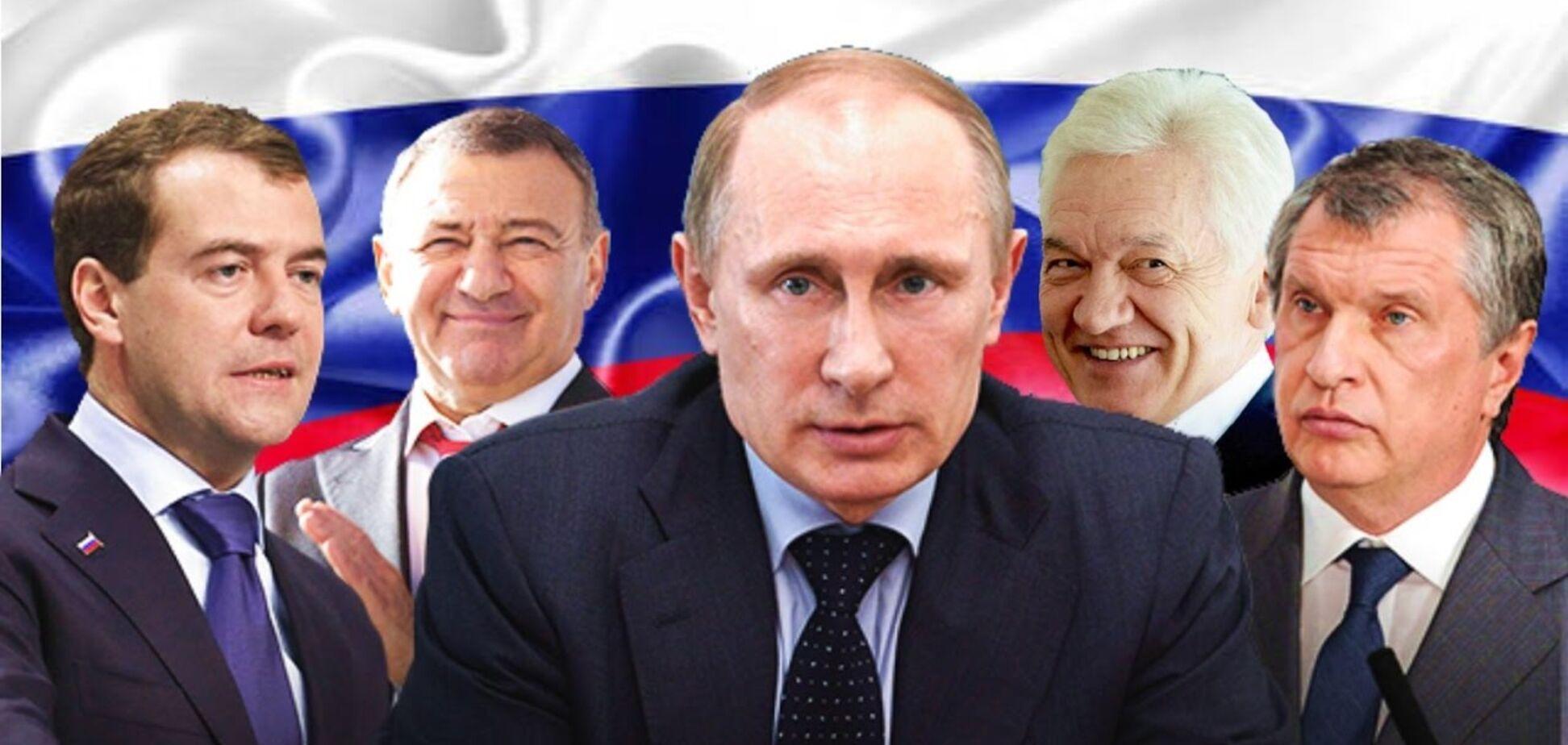 'Відкрутити Путіну башку': спрогнозовано реакцію російських олігархів на санкції