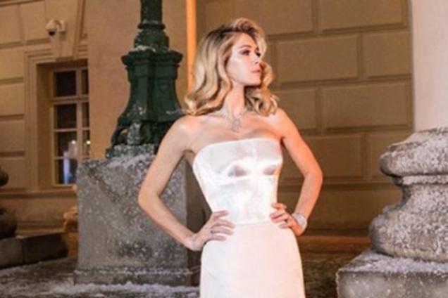 Скандальная украинская звезда снялась у фотографа сестер Кардашьян