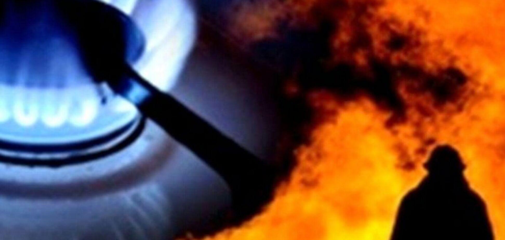 Опубликовано видео последствий взрыва газа в Запорожской области