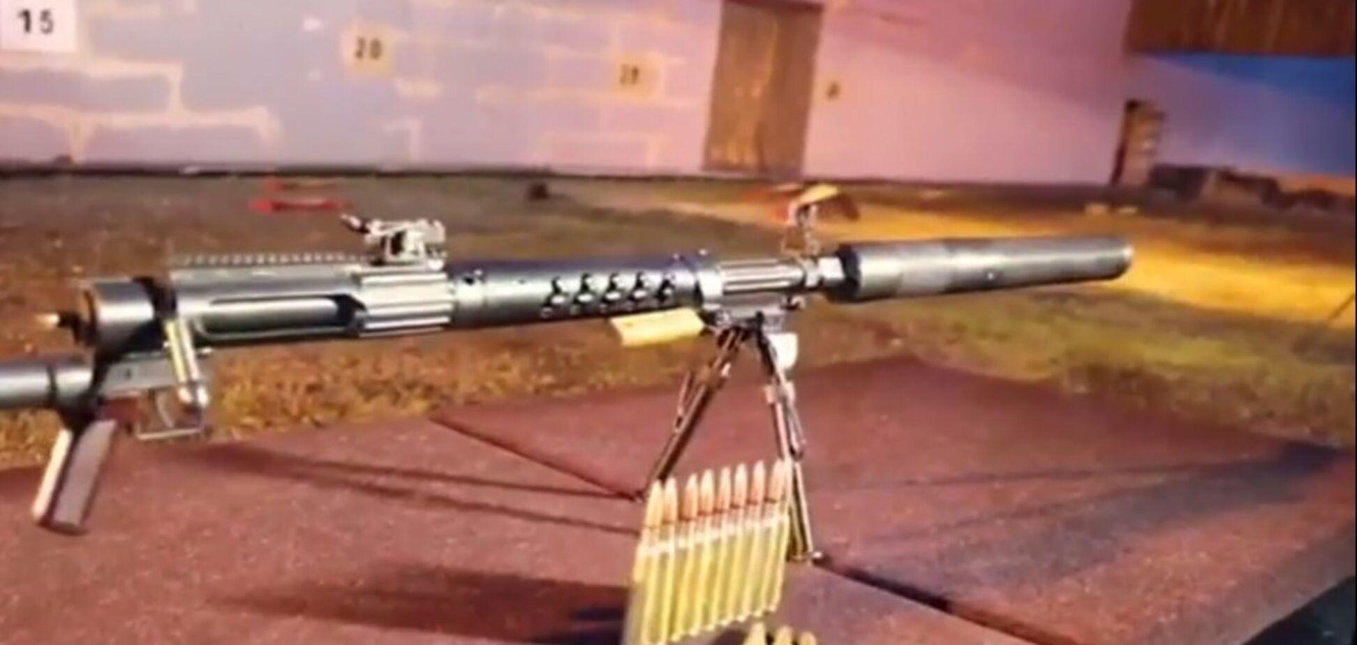 Новое оружие террористов 'ДНР' попало на видео