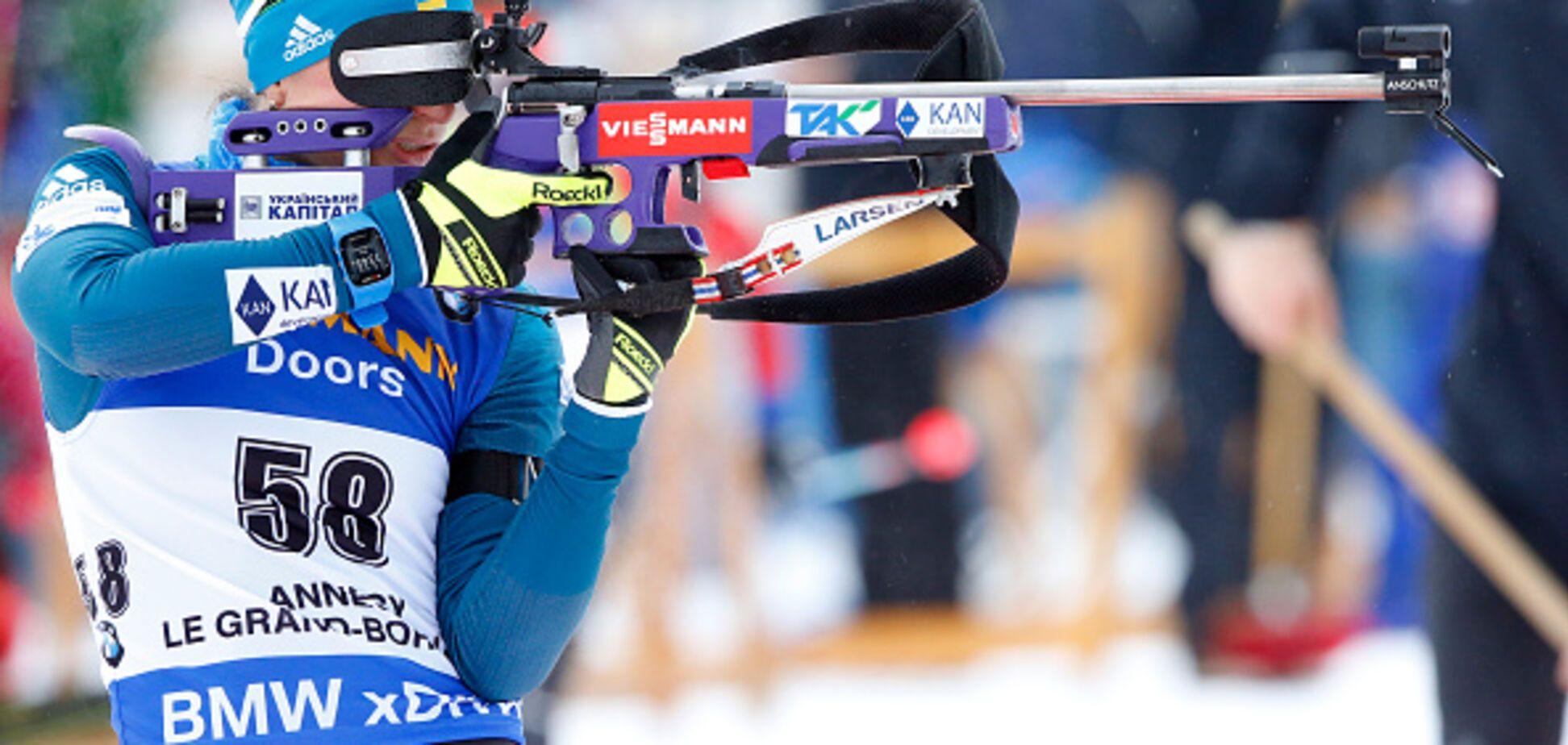 Україна на Кубку світу з біатлону: результати сенсаційного жіночого спринту
