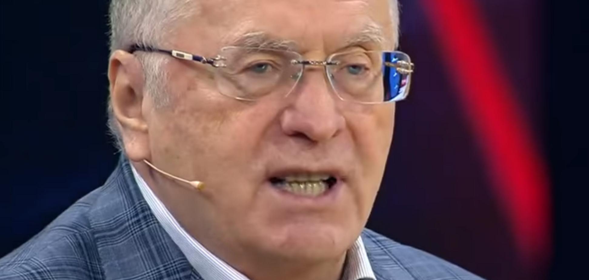 'Над Києвом буде російський прапор': Жириновський пригрозив Україні великою війною
