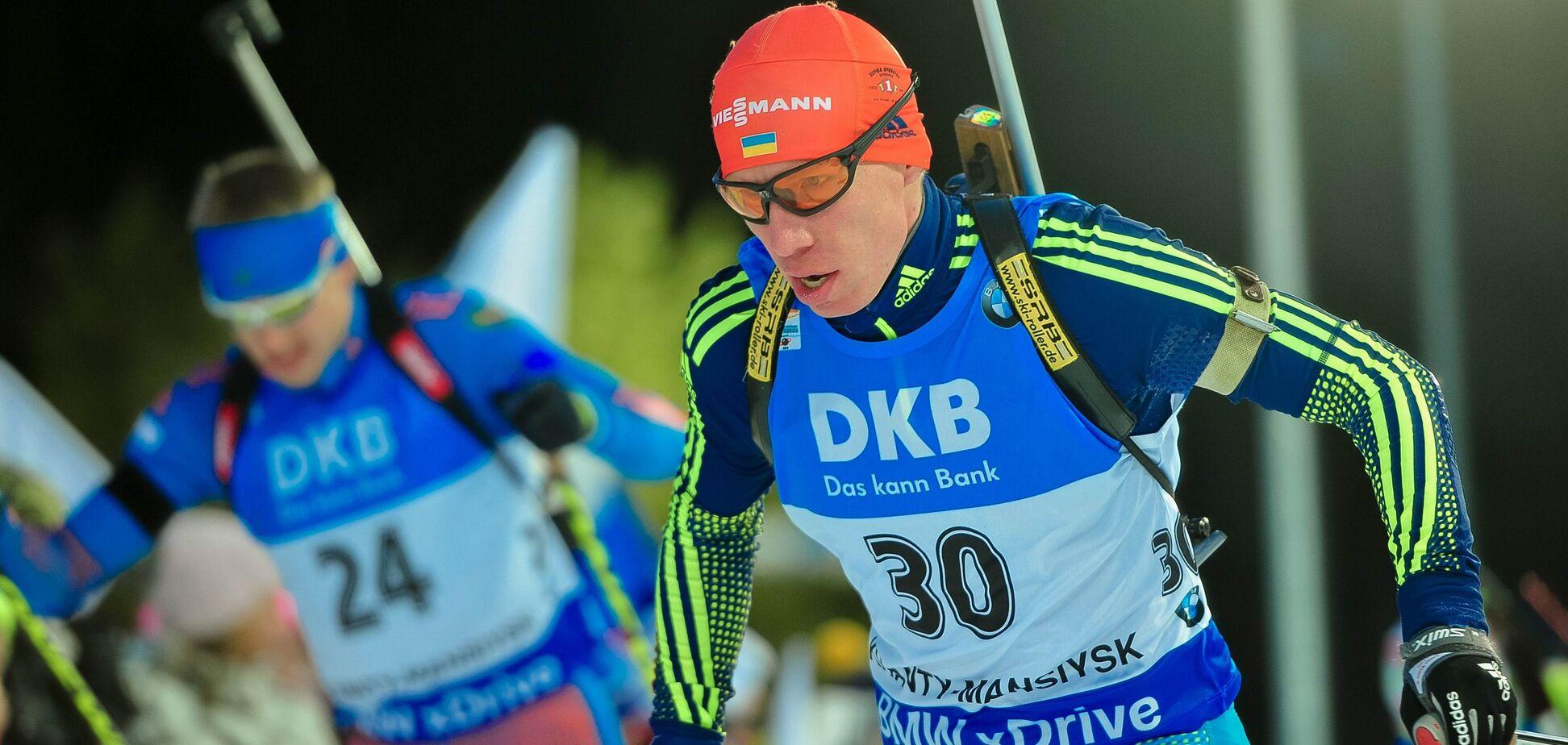 У Росії - 'дерев'яшка', у України - рекорд: результати чоловічого спринту на 6-му етапі Кубка світу з біатлону