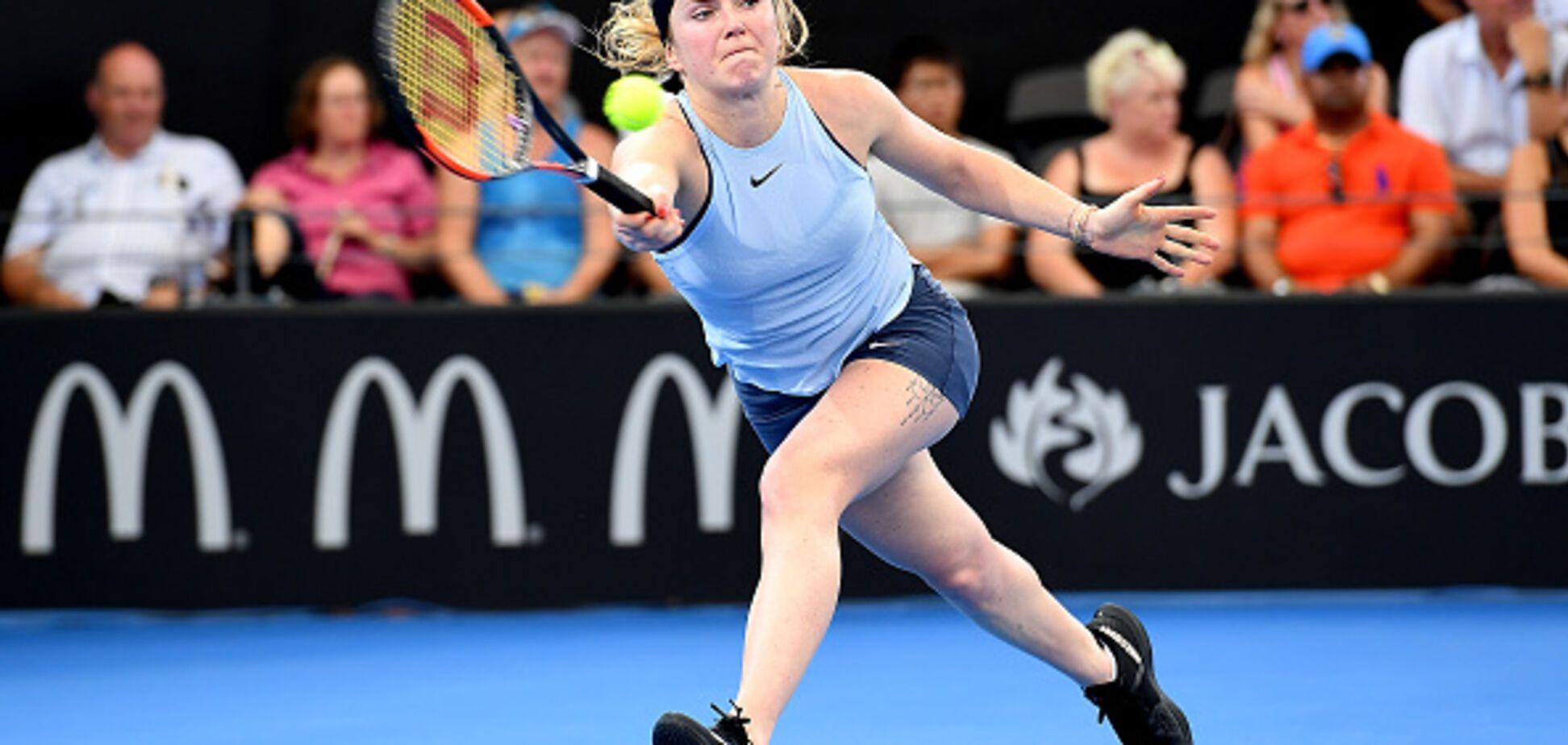 'Чудово!' Найкраща тенісистка України викликала фурор в Австралії: відеофакт