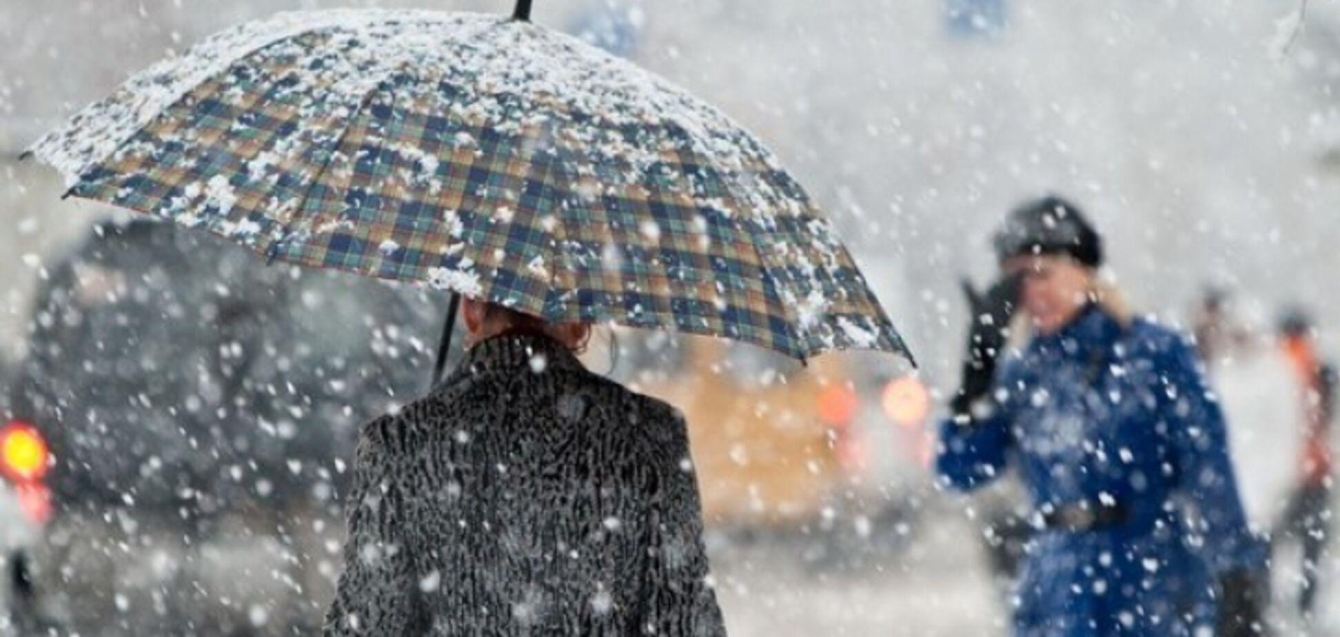 Непогода в Украине обесточила сотни населенных пунктов