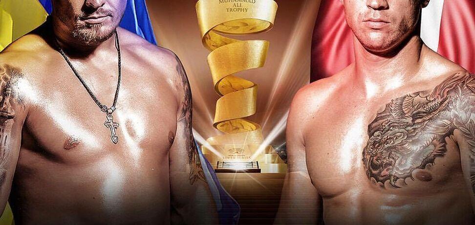 Заруба! Усик - Бріедіс: онлайн-трансляція бою 1/2 фіналу Всесвітньої боксерської суперсерії
