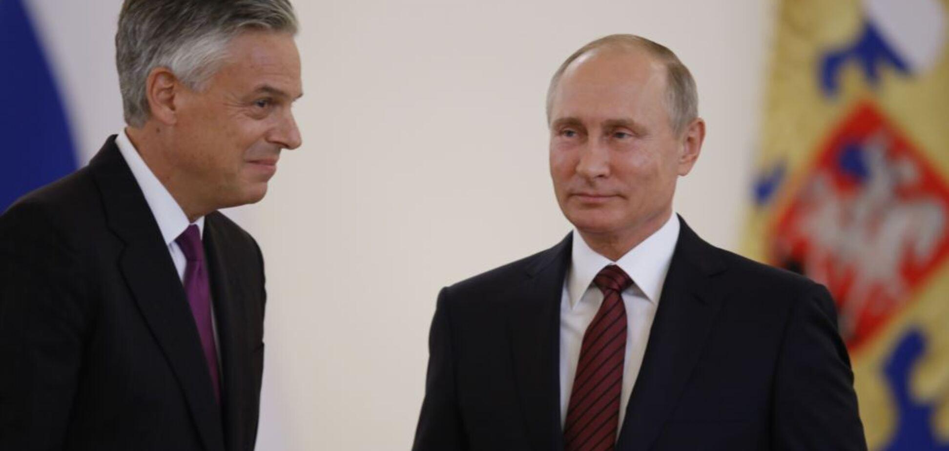 Приехали: посол США скопировал выходку Путина