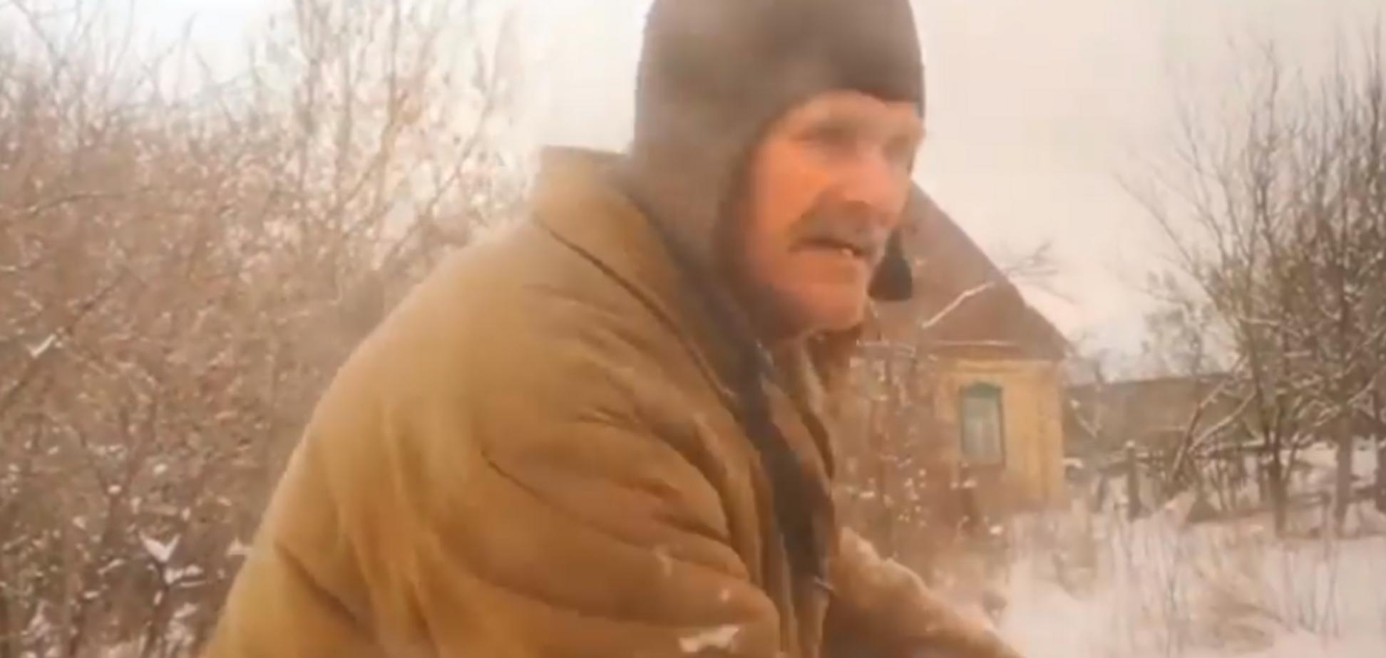 'Укропы повсюду!' Боец ВСУ в образе террориста узнал истинные настроения людей в селе на Донбассе. Видео