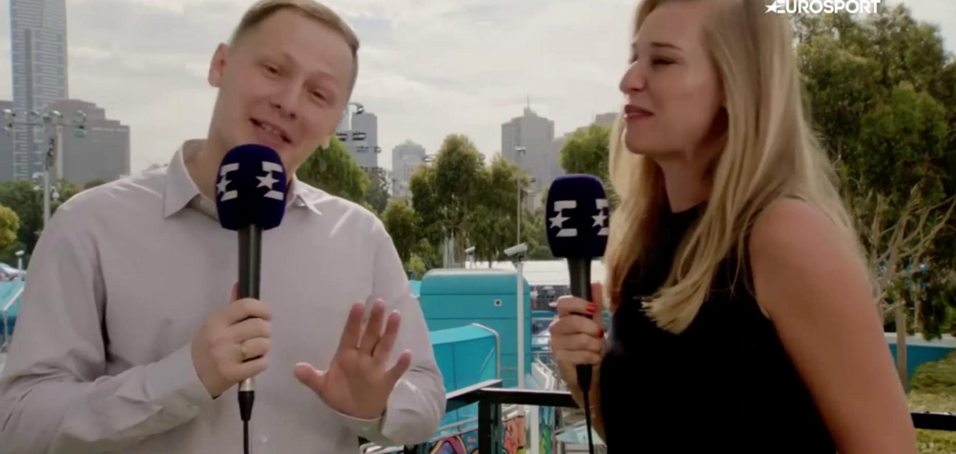 'Найкрутіший росiянин? Кличко': знаменита тенісистка обламала російського коментатора