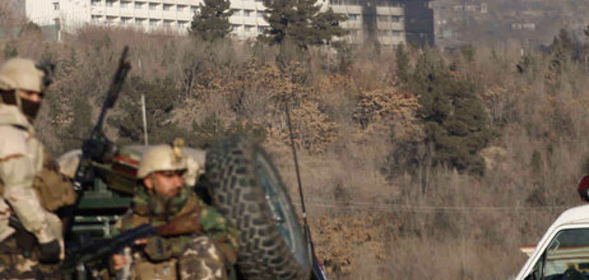 Атака на готель в Кабулі