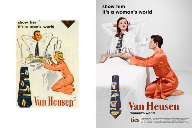 """Фотограф """"ударил"""" по сексизму в старой американской рекламе"""
