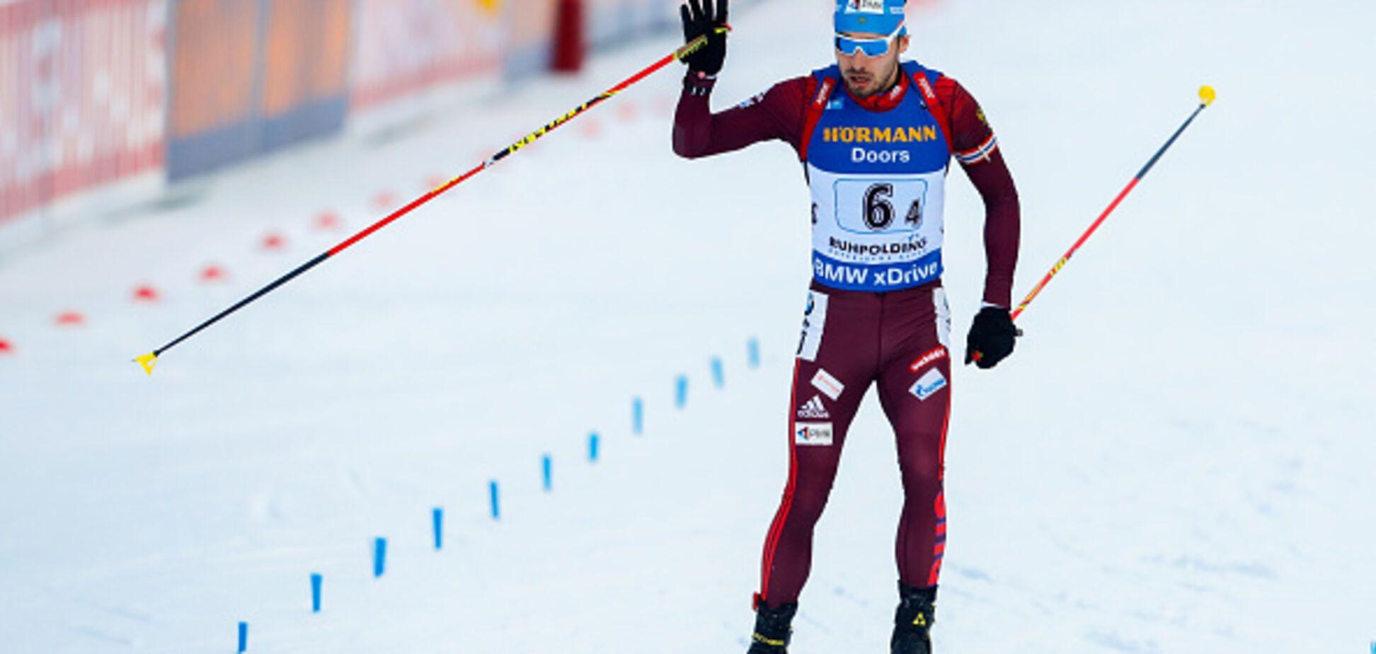 Лучшего биатлониста России вышвырнули с Олимпиады-2018