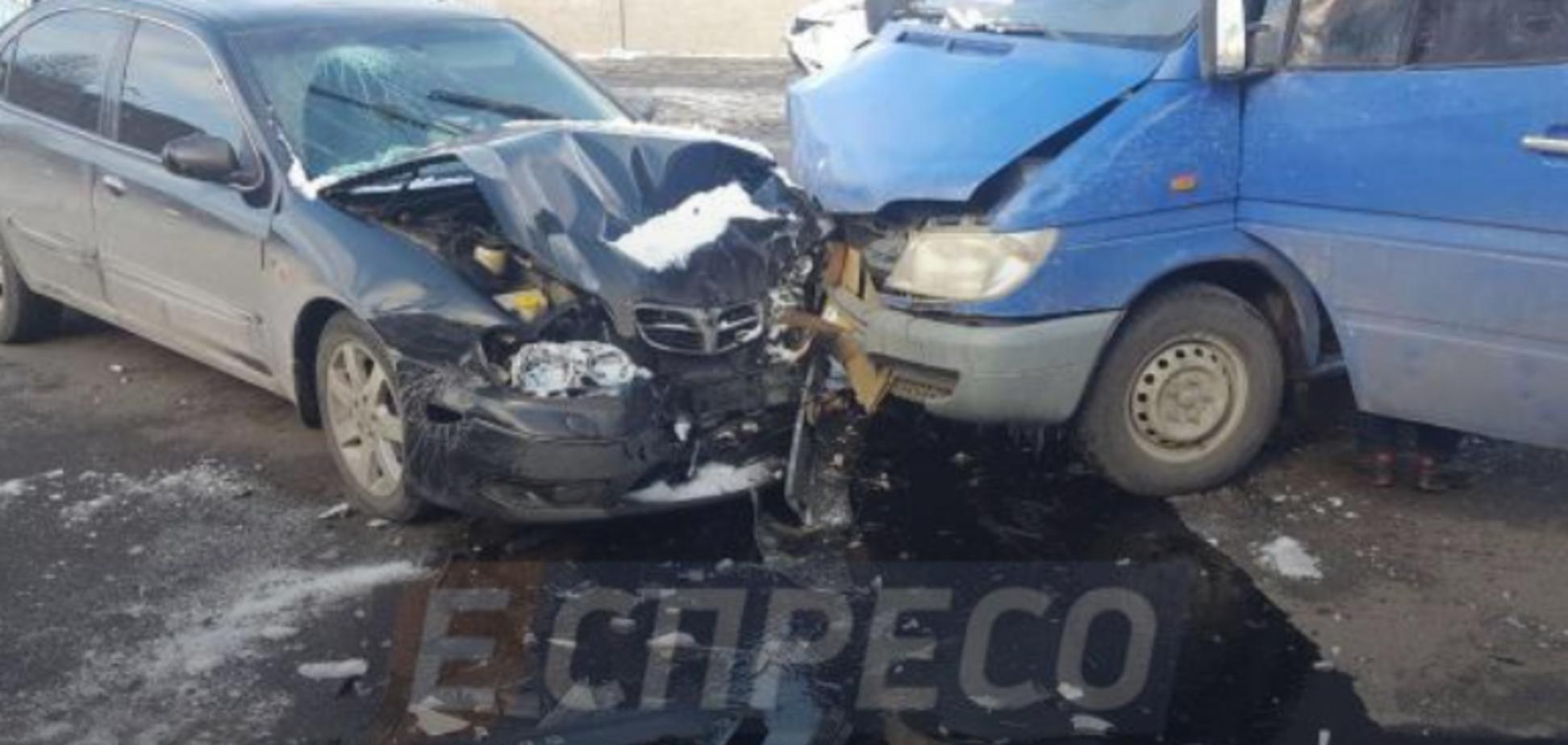 'Головами разбили стекло': в Киеве произошло чудовищное ДТП