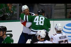 Шесть драк: невероятный матч в НХЛ превратился в брутальное мессиво - видеофакт