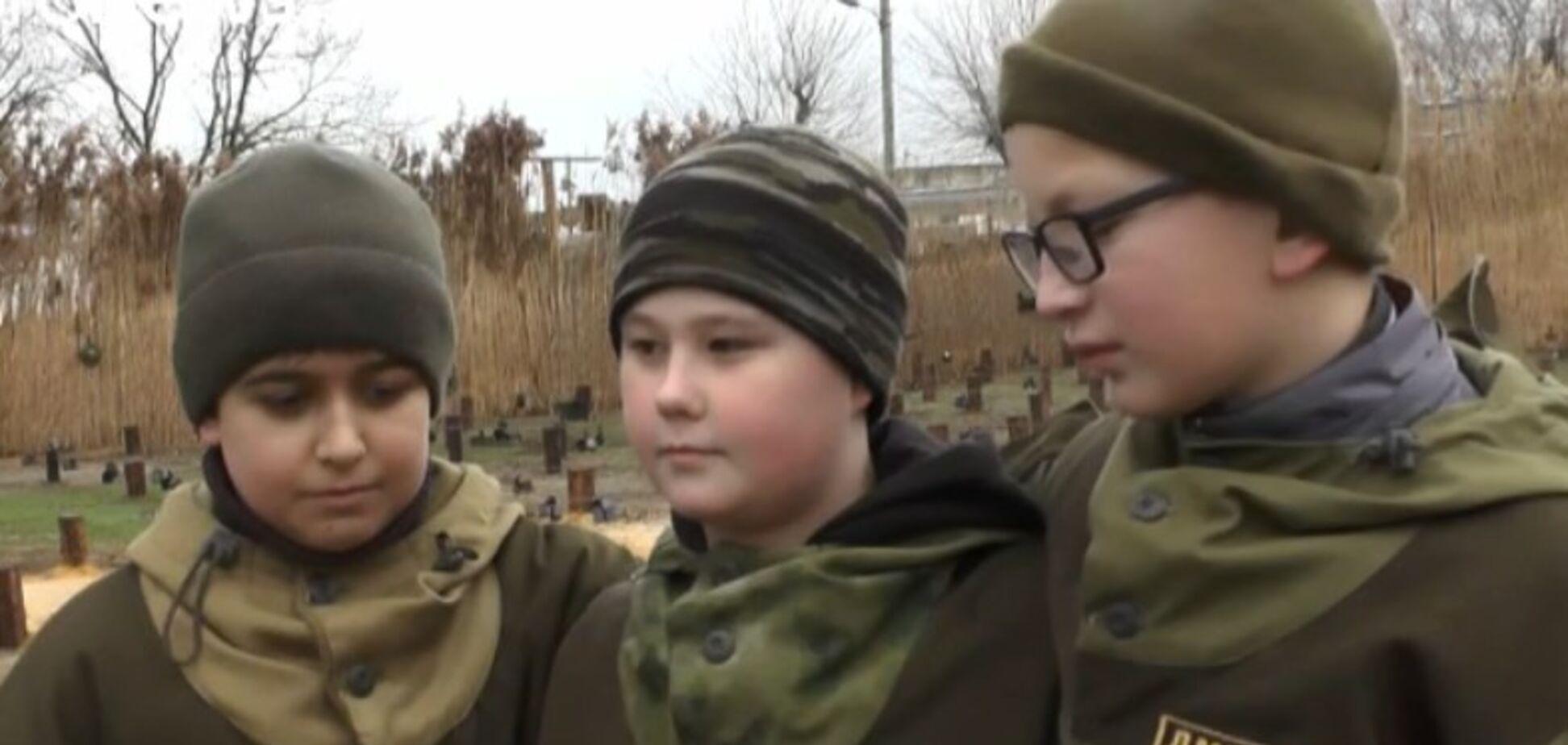 Дети мины Крым