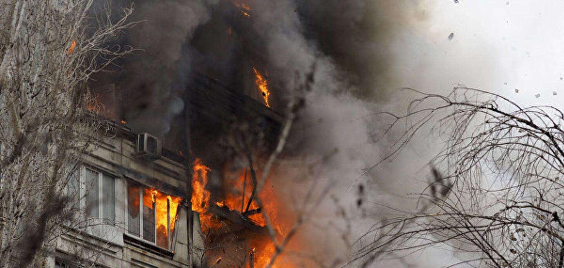 На Киевщине на воздух взлетели четыре квартиры
