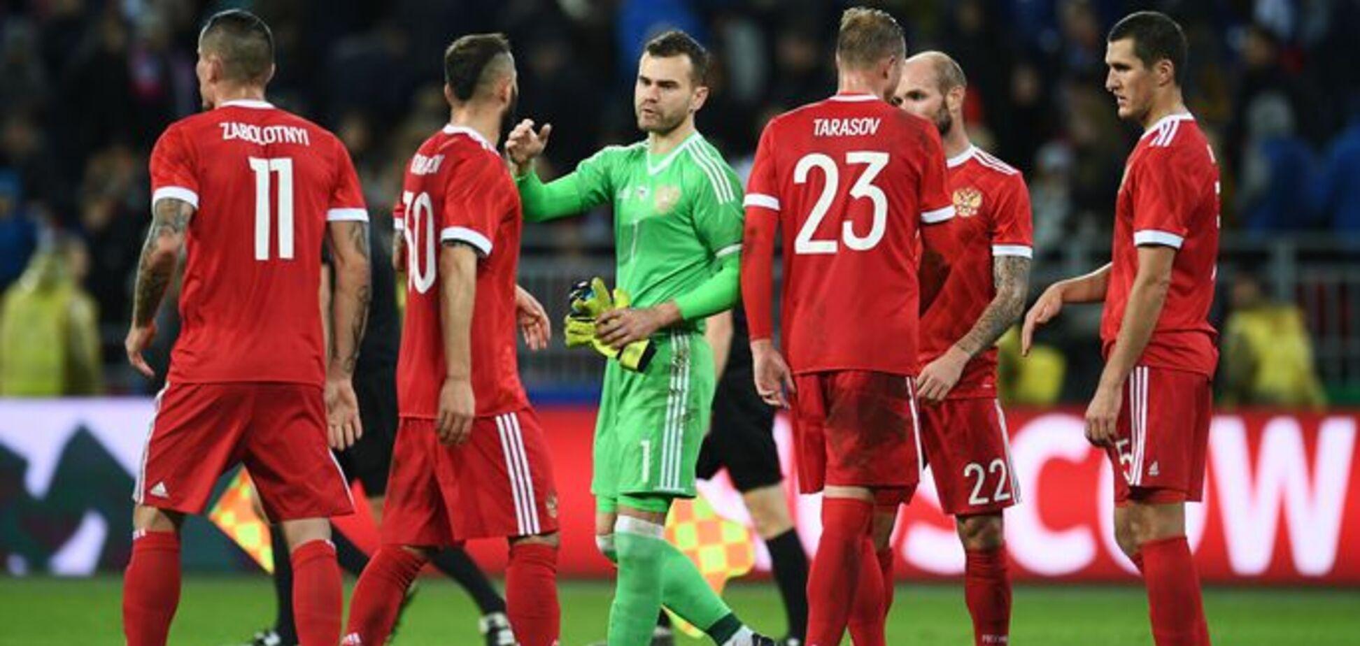 'У Украины противнее': в РФ устроили травлю сборной России по футболу
