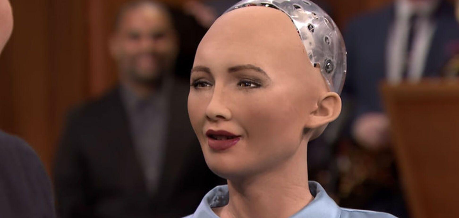 жінка-робот Софія