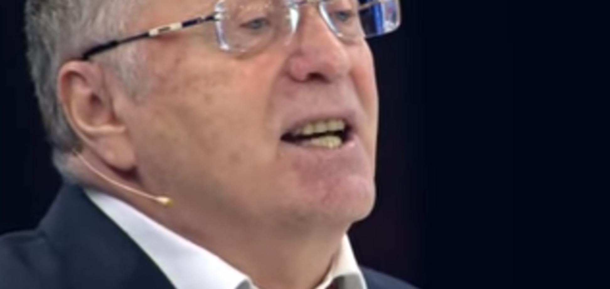 'Еще не сдохла?' Жириновский надругался над гимнами Украины и Польши
