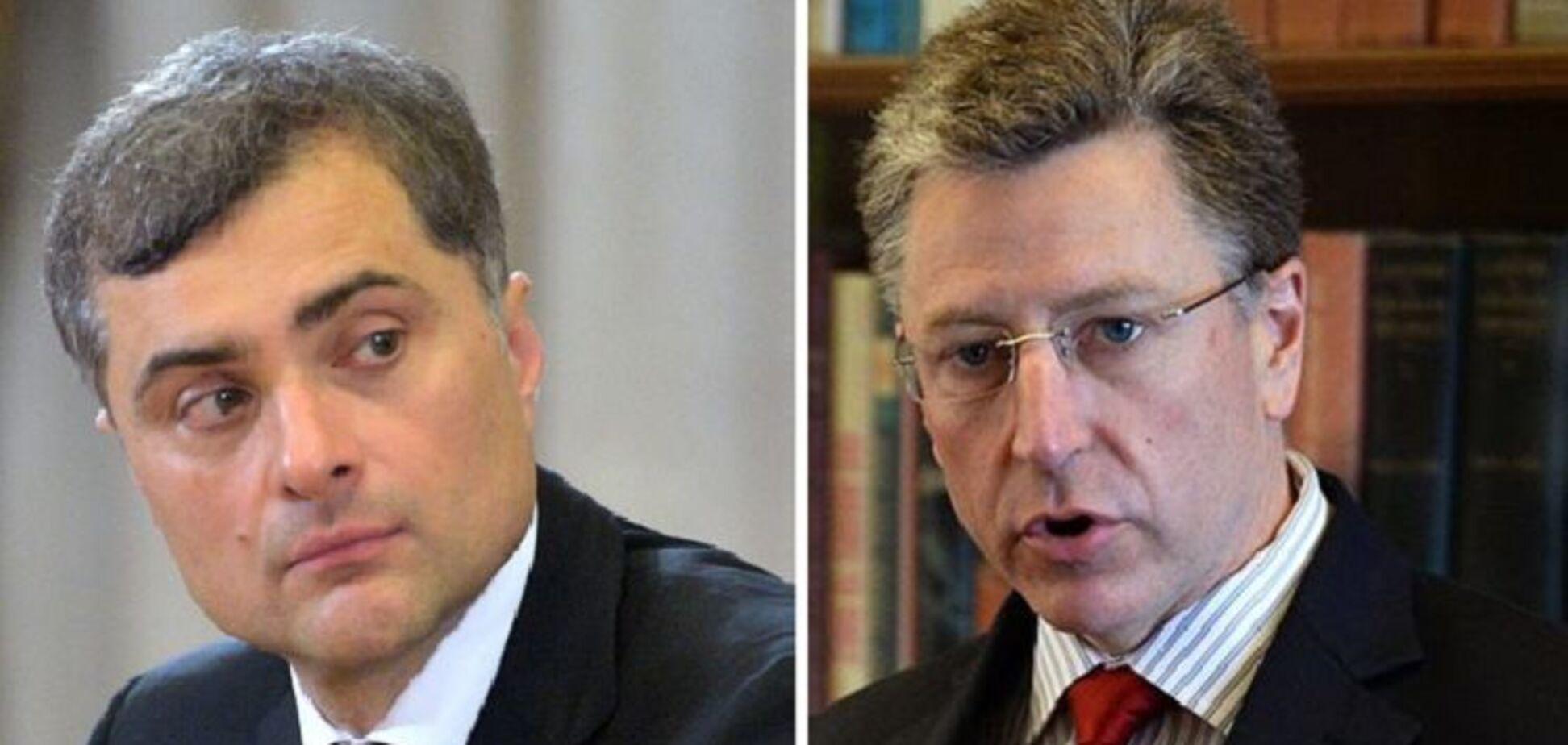Встреча Суркова и Волкера по Донбассу: в Кремле озвучили свои ожидания