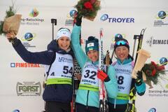 З'явилося відео, як біатлоністка збірної України здобула 'золото' чемпіонату Європи