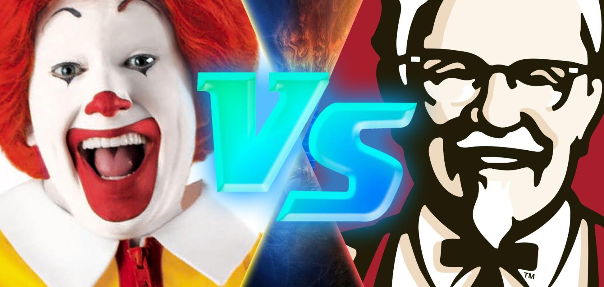 KFC против McDonalds: опрос читателей