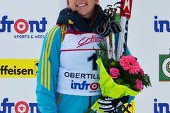 Українська біатлоністка завоювала 'золото' чемпіонату Європи