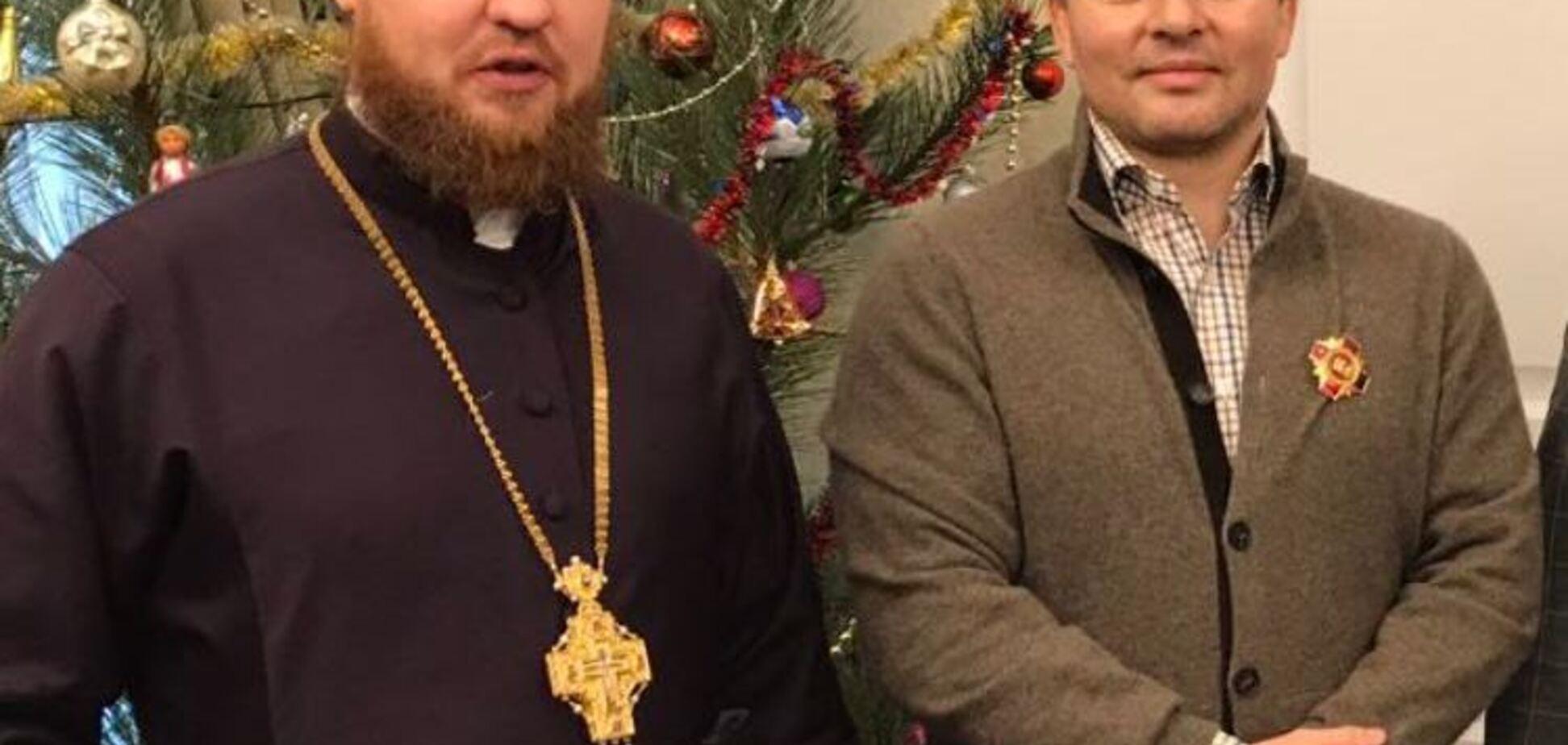 Вадима Киселя наградили орденом Святого Великомученика Георгия Победоносца