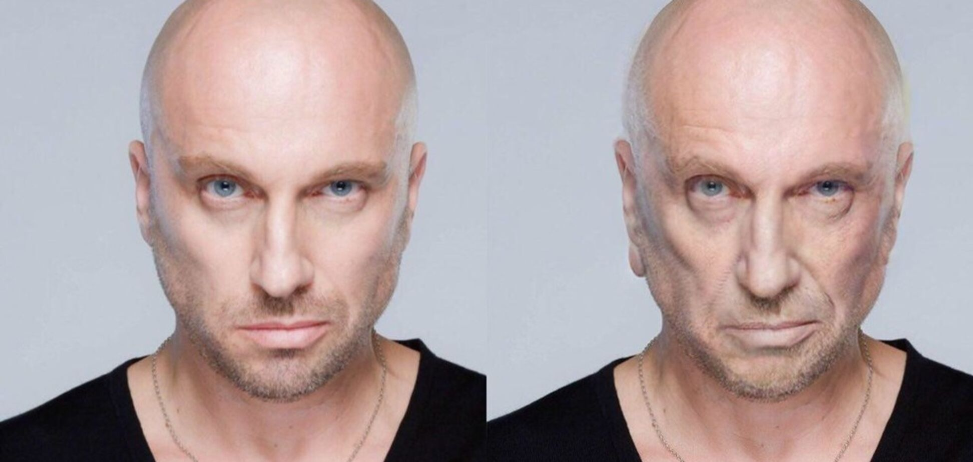 Зморшки та сиве волосся: як будуть виглядати зірки РФ у старості