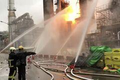 На Тайвані на нафтопереробному заводі стався вибух