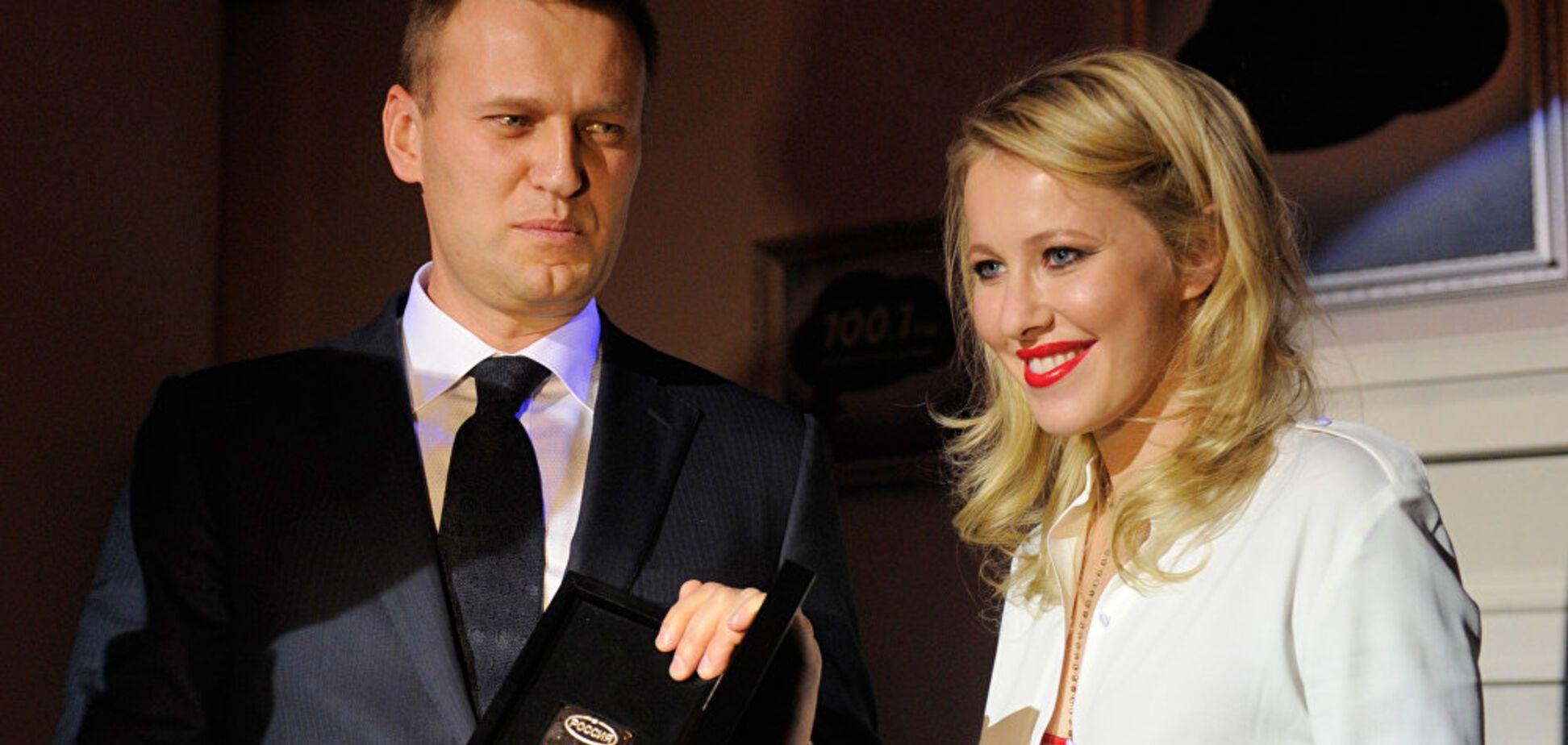 Сказка о Рапунцель: в сети остро высмеяли Навального и Собчак