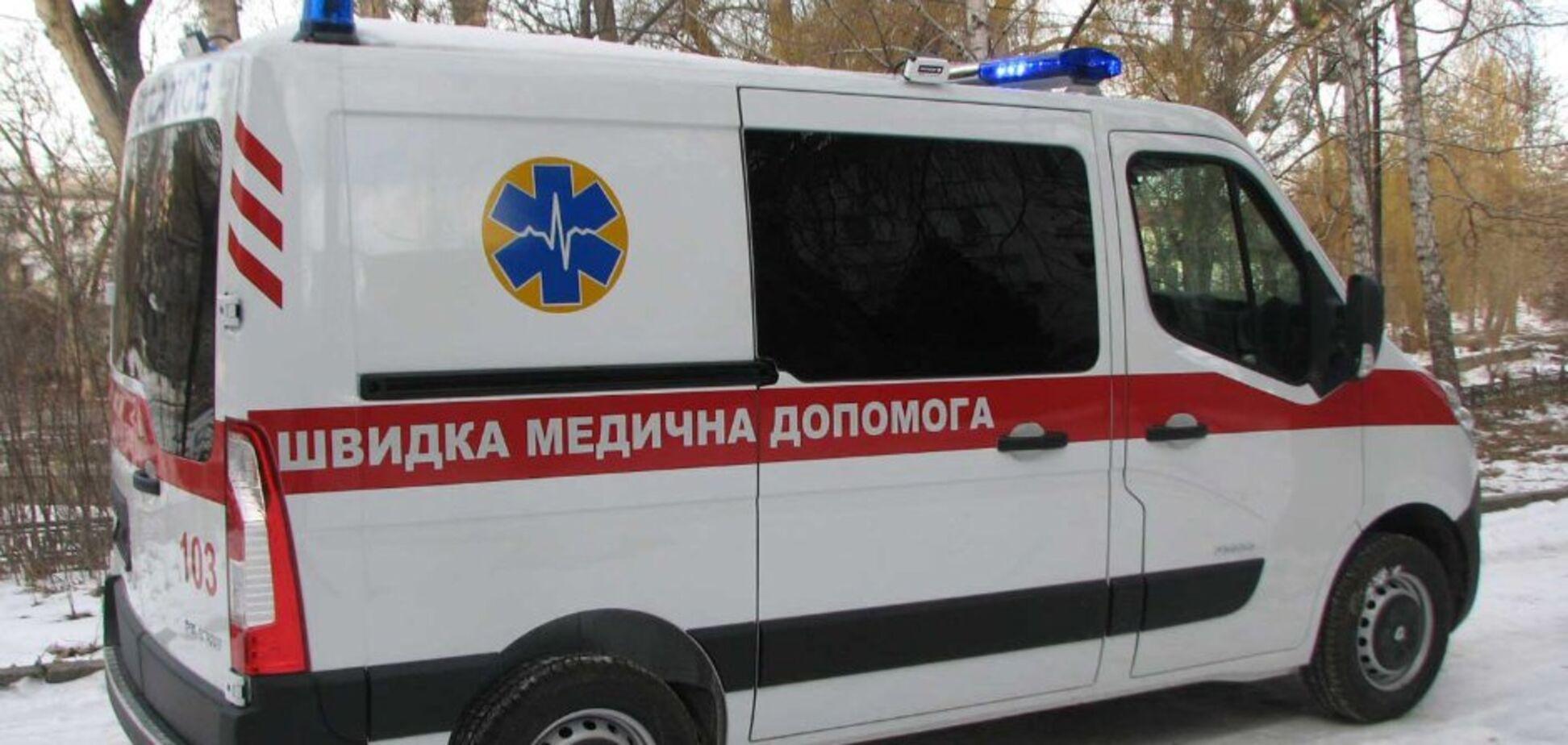 Угнать за 30 секунд: под Киевом неадекват украл 'скорую помощь'