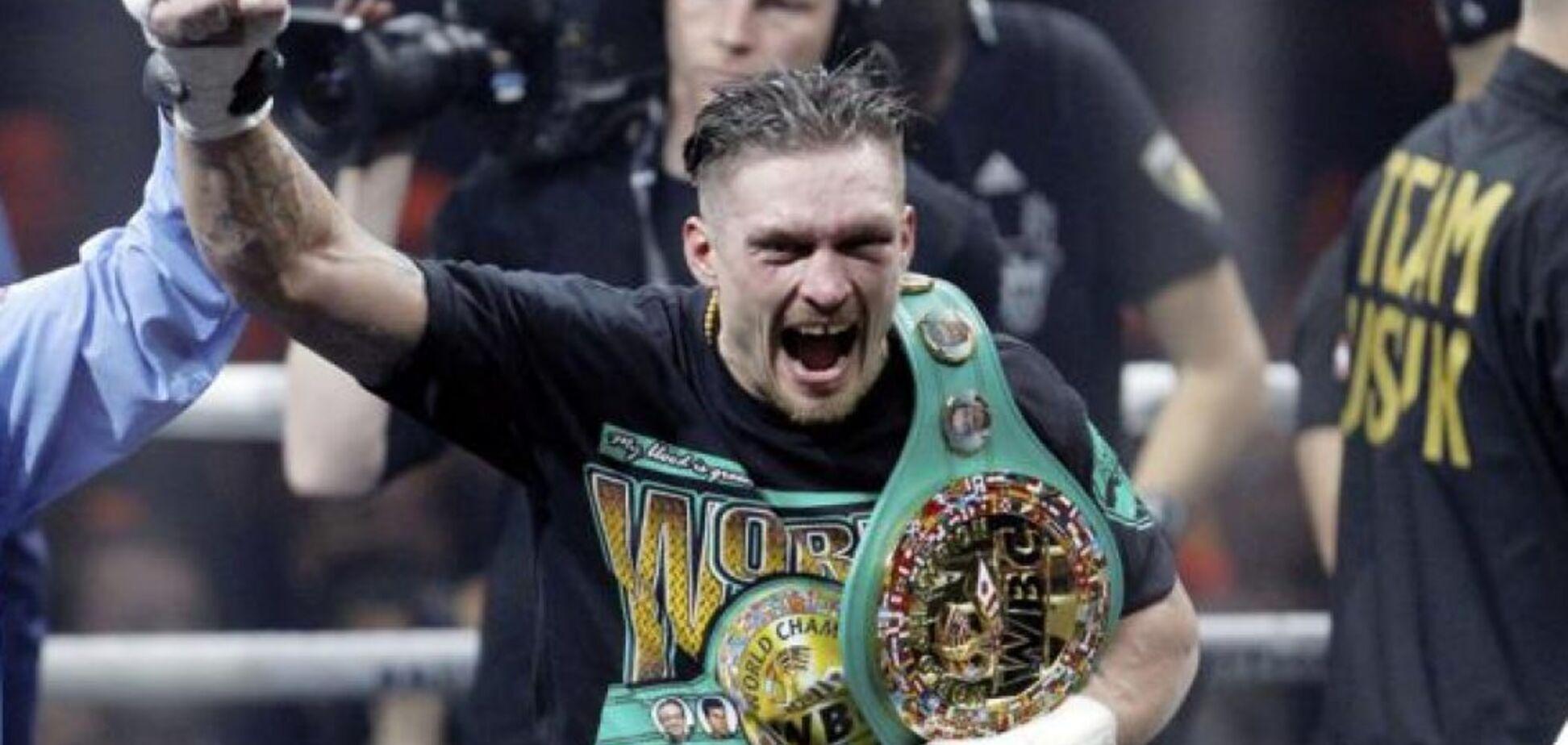 Усик побил исторический рекорд легенды мирового бокса