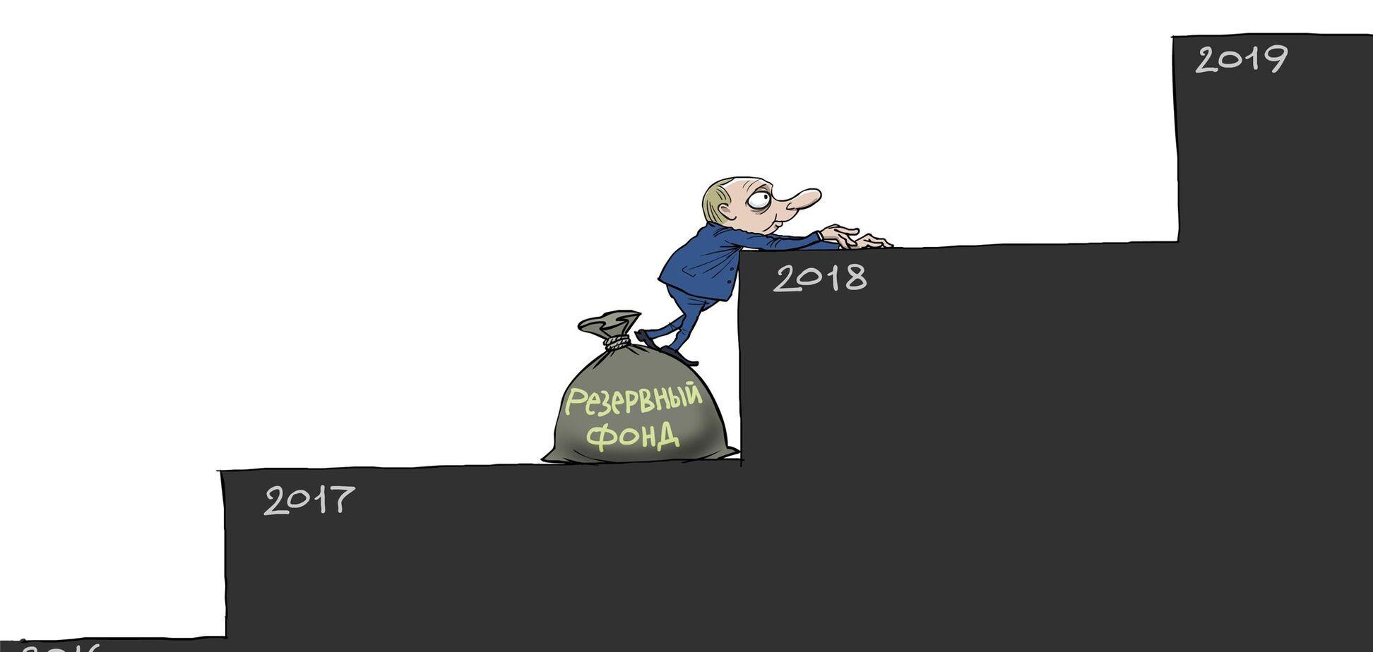 'Дальше только по трупам': будущее России и Путина показали меткой карикатурой